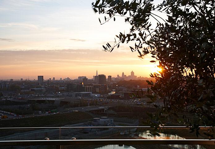 Iain Sinclair: London 2012 Olympics development project provokes Welsh psychogeographer's rage View-across-the-city-007