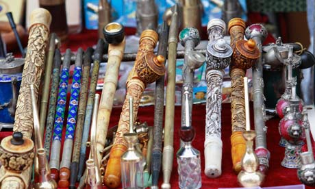 Drugs Opium-pipes-on-a-stall-007