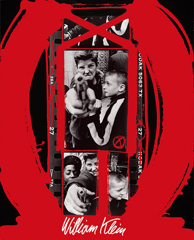 Photographer William Klein Painted-contact-Gun.-New--012