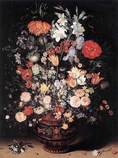 Flower paintings Flowers-in-a-vase-by-Jan--008