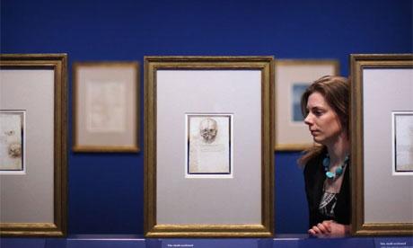 Leonardo, the Turin Shroud and the Mona Lisa Leonardo-da-Vinci-Studies-008