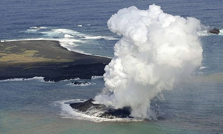 7 Volcanoes In 6 Countries Start Erupting Within Hours Of Each Other A-volcano-forms-a-new-isl-008
