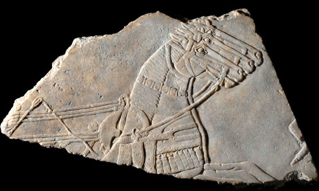 The Horse in Art Assyrian-relief-007