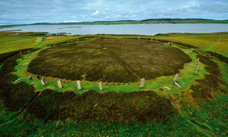 Megalithic Temples of the Orkneys and Shetlands, Scotland  The-ring-of-brodgar-005