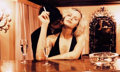 On Love Man-Kissing-Woman-at-Bar-007