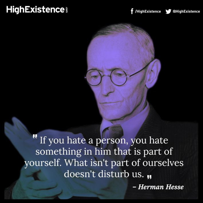 Carl Jung and the Shadow: The Ultimate Guide to the Human Dark Side Herman-hesse-quote-709x709