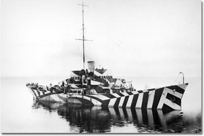 Des bateaux trompe l'oeildurant la 2e GM 160154
