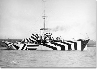 Des bateaux trompe l'oeildurant la 2e GM 160156