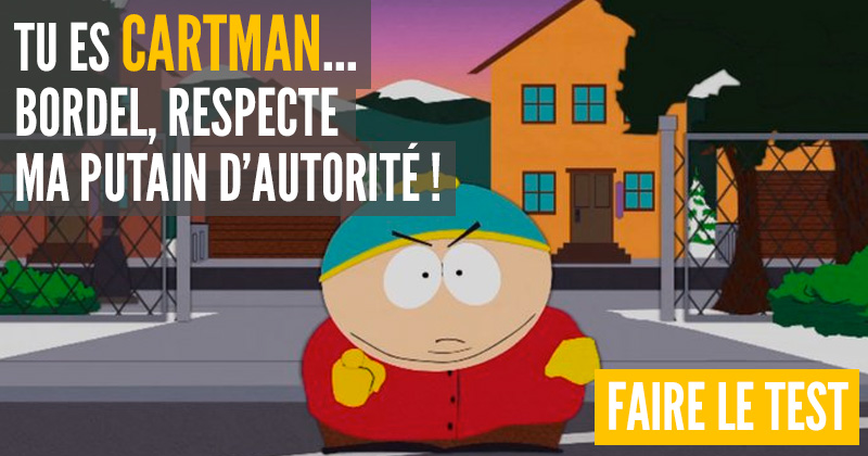 [Test] Quel personnage de South Park es-tu ? Cartman-1
