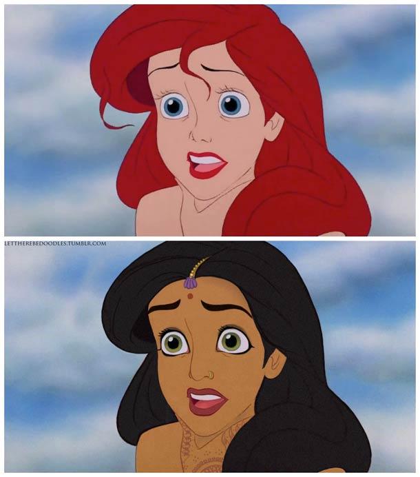 Venez postez vos photos (images) drôles / amusantes de Disney - Page 8 Disney-princesses-other-countries-2