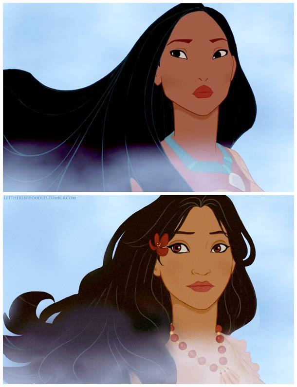 Venez postez vos photos (images) drôles / amusantes de Disney - Page 8 Disney-princesses-other-countries-3