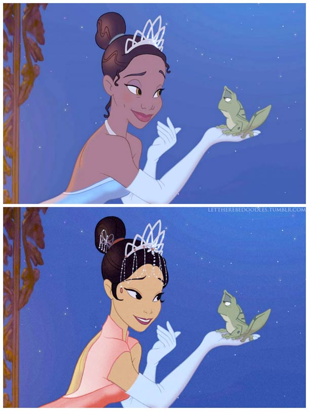 Venez postez vos photos (images) drôles / amusantes de Disney - Page 8 Disney-princesses-other-countries-4