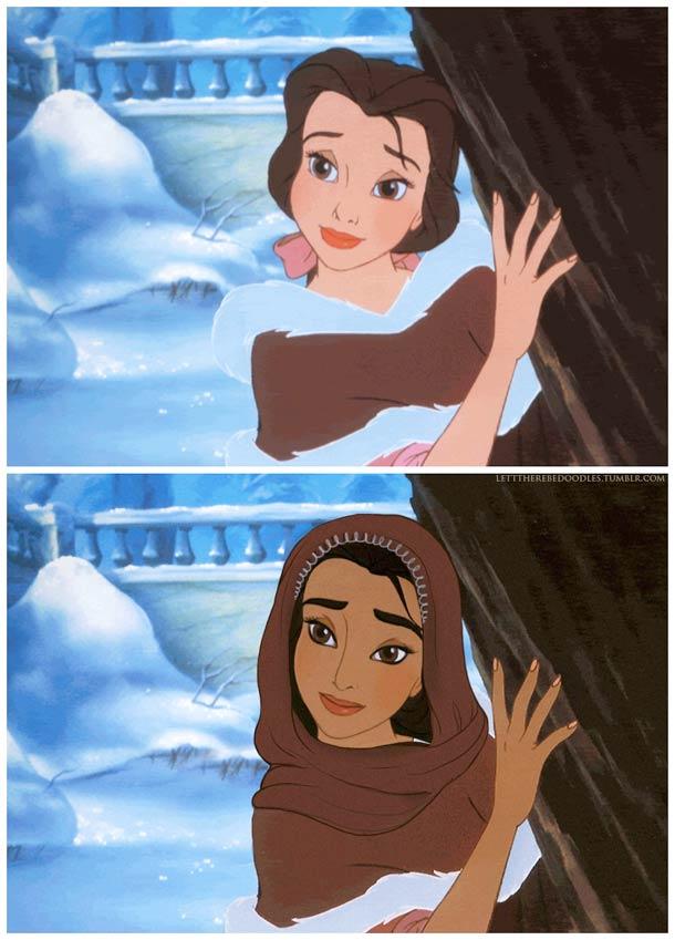 Venez postez vos photos (images) drôles / amusantes de Disney - Page 8 Disney-princesses-other-countries-5