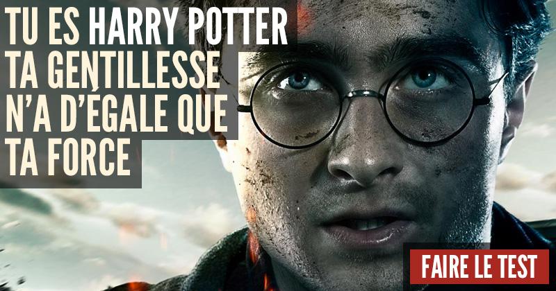 [Test] Quel personnage d'Harry Potter es-tu? Harry-2