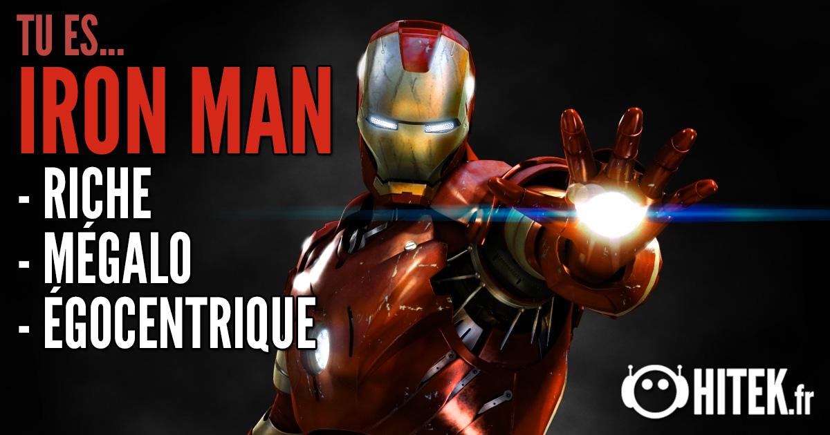 [Test] Quel super-héros es-tu ? 2.0 Ironman-1
