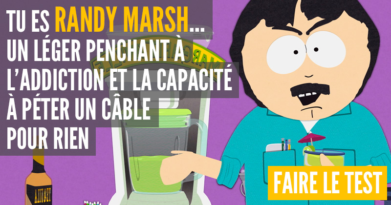 [Test] Quel personnage de South Park es-tu ? Randy-1