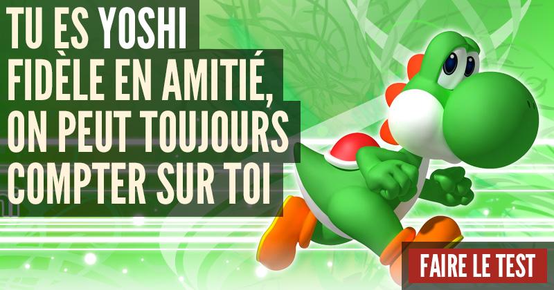 [Test] Quel personnage de Nintendo es-tu ? Yoshi-1
