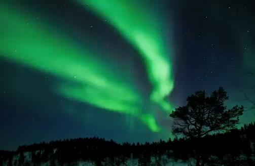 A View On Finland Revontuletjuttu1710HL_ul
