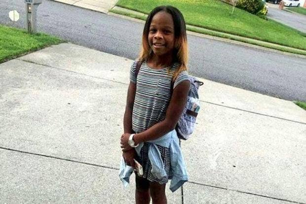 Why was an 11-year-old girl shot dead as she came home from first day at new school? Cpz8eloxyaenaj0