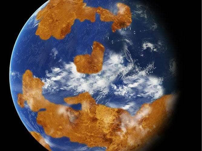 Venus may once have been habitable, Nasa says Oldvenus