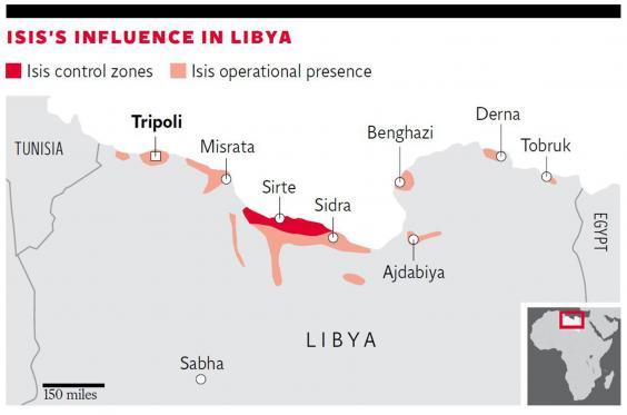 Isis in Libya: How Muhammar Gaddafi's anti-aircraft missiles are falling into the jihadists' hands Isis-libya