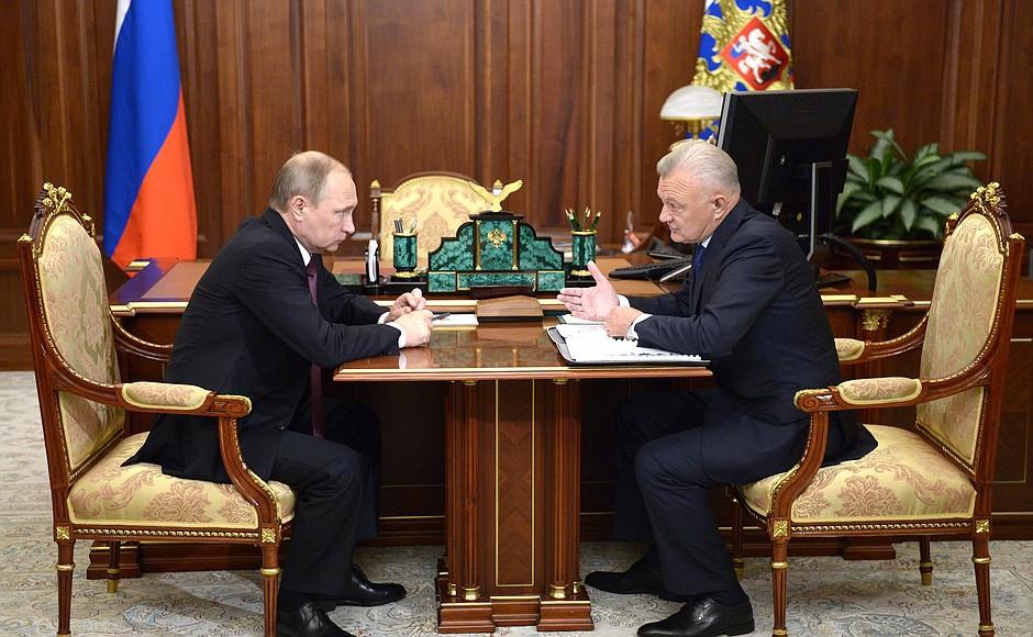 Ковалев рассказал Владимиру Путину, как закончил полугодие E0YBEbnAisJAXtK6pe7UeDqXYs2SlPit