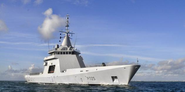 مصر بصدد الحصول على 4 كورفيتات GOWIND من شركة DCNS بمليار أورو - صفحة 2 L8217opv-gowind-l8217adroit-patrouilleur-hauturier-destine-a-des-missions-de-sauvegarde-maritime