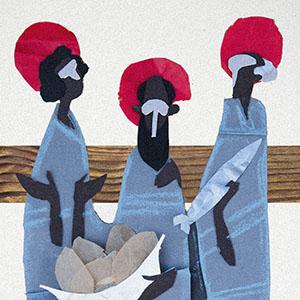 Trois disciples Philippe-nathanael-thomas