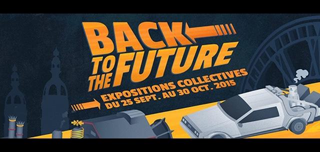 """Les événements préparés en France à l'occasion du """"Back to the Future Day"""", le 21 octobre ! Par Brice Louvet Expo-back-to-the-future"""