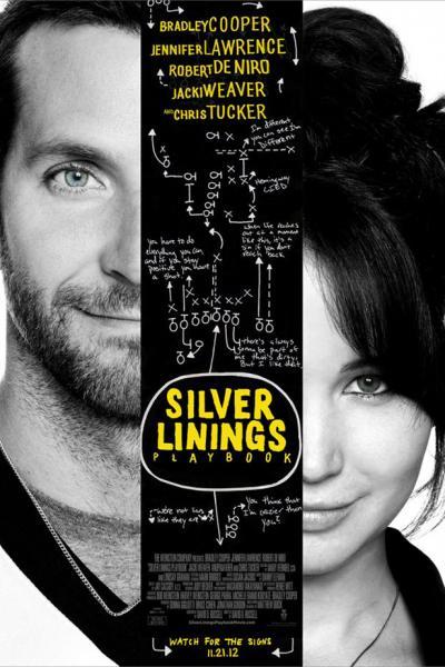 """FILM >> """"Silver Linings Playbook"""" (B. Cooper, J. Lawrence) Silver-linings-playbook-movie-poster_400x600"""