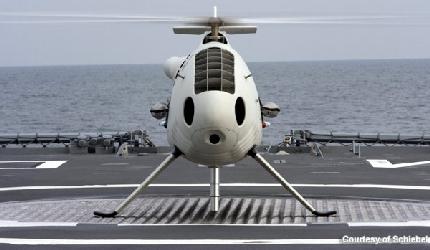 الطائرة بدون طيارcamcopter s-100 1-schiebel-camcopter