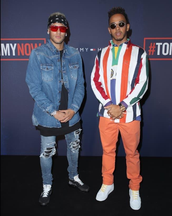 ¿Cuánto mide Lewis Hamilton? - Estatura y peso - Real height Neymar-hamilton