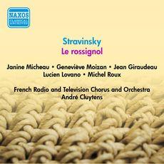 stravinsky - Stravinsky: opéras et autres oeuvres pour voix et orchestre 0730099829212_230