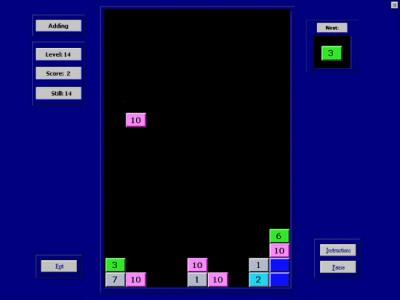 Juegos de PC Valgetal-falling-numbers