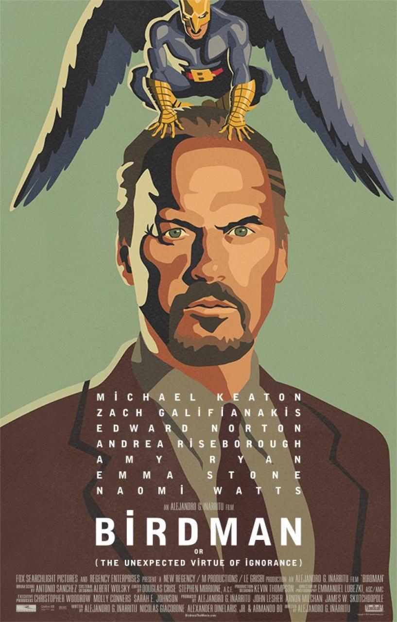 Premios Oscar 2015 Birdmanposter