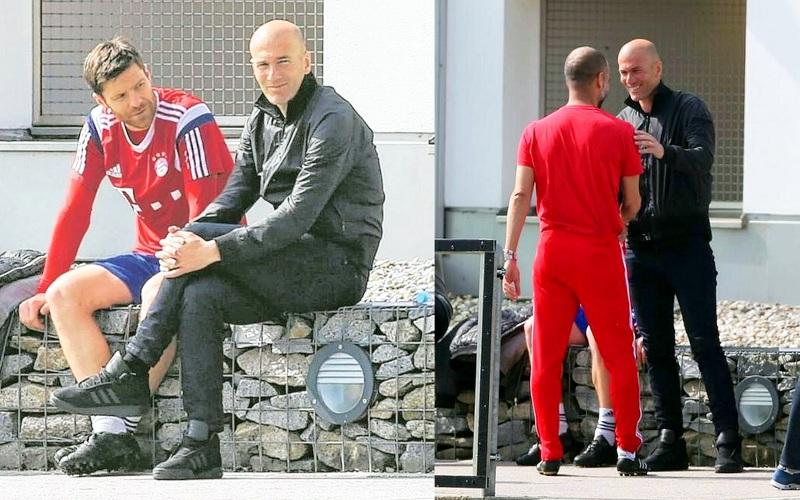 ¿Cuánto mide Zinedine Zidane? - Altura - Real height Pictures12-1427276059