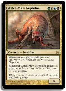 Duels of the Planeswalkers  - Page 4 Witch_maw_nephilim