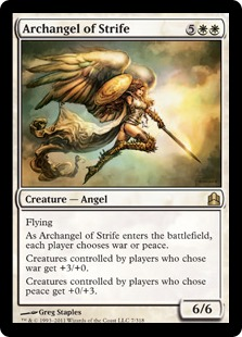 [EDH] Des mises à jours sont disponibles pour votre Kaalia ArchangelofStrife