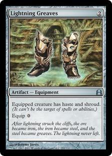 [EDH] Des mises à jours sont disponibles pour votre Kaalia LightningGreaves