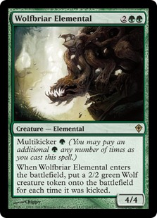 Duels of the Planeswalkers  - Page 3 WolfbriarElemental