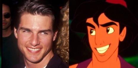 Personajes Disney inspirados en famosos 34d9afa0