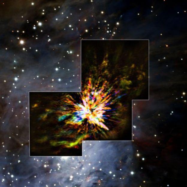 Imágenes del nacimiento de una estrella captadas por el telescopio ALMA en Chile 1494424102-95997255170407c