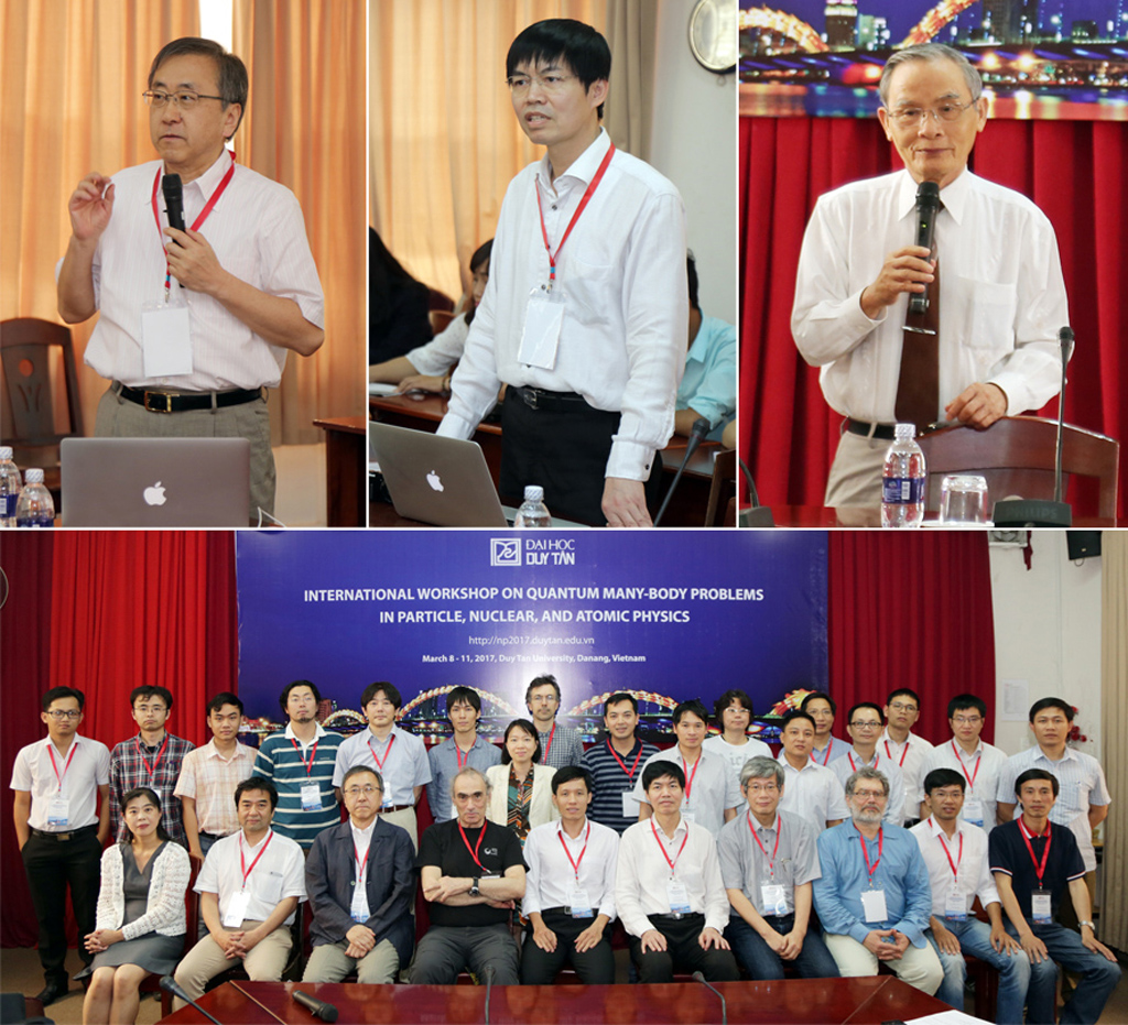 Nhiều nhà khoa học dự hội thảo về vật lý hạt nhân tại ĐH Duy Tân Kembaivatlyhatnhan-1_XWLG