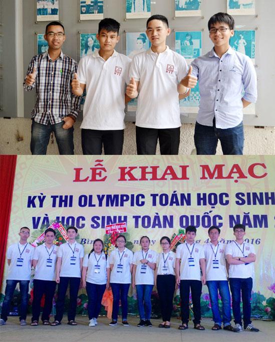 Sinh viên Duy Tân và thành tích tại Olympic Toán học toàn quốc 2016 Olympictoan_JCBN