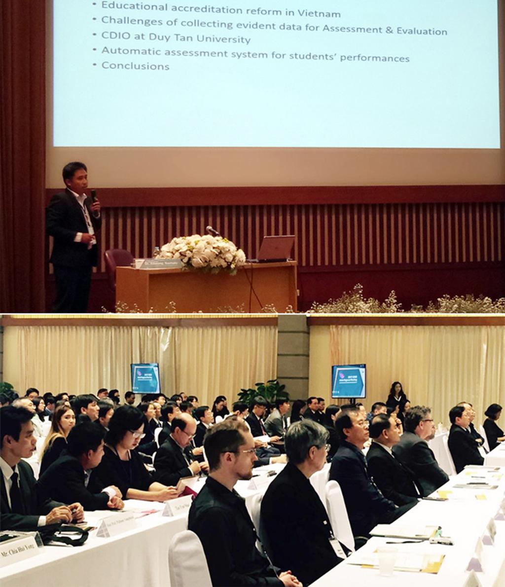 ĐH Duy Tân báo cáo (Keynote) tại Hội nghị CDIO vùng châu Á 2017 Duytan_mvdc
