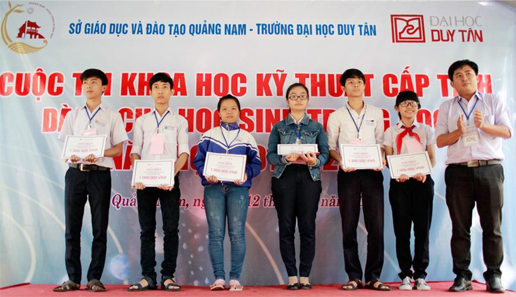 ĐH Duy Tân trong vai trò hỗ trợ thi Khoa học kỹ thuật THPT Dhduytan1_jzlr