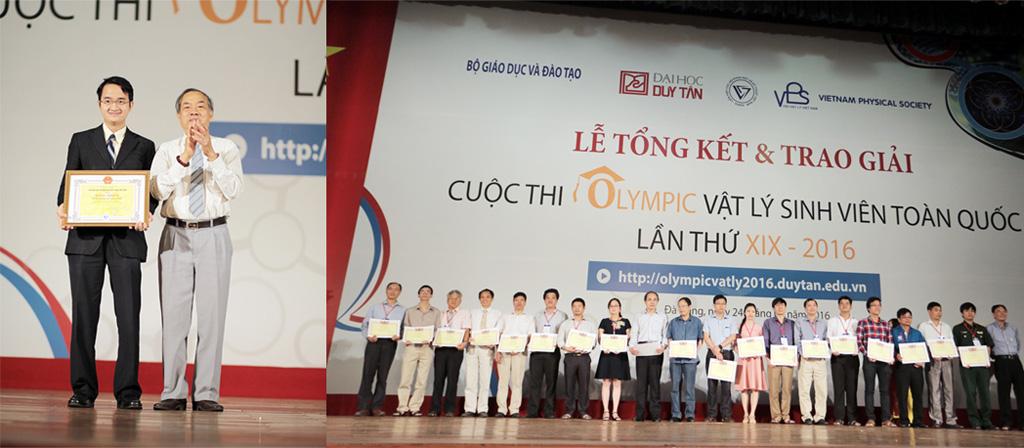 Sinh viên ĐH Duy Tân đoạt giải Nhất Olympic Vật lý sinh viên toàn quốc Duytan1_rviz