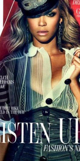 Christina o Beyonce? Mejor portada para W Megazine Beyonce-w-magazine-cover_265x530