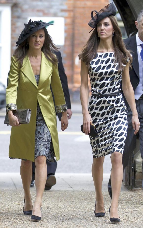 Foto me kalepe te cuditshme  Pippa-middleton-and-kate-middleton-fashion_582x925