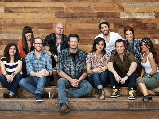 Te presentamos al #TeamXtina - The Voice The-voice-team-blake-shelton_510x383
